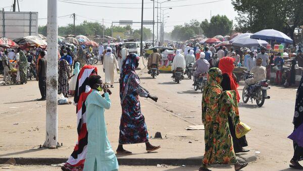 Le marché de Diguel réouvert à N'Djamena au Tchad, situé dans la commune du 8ème arrondissement - Sputnik France