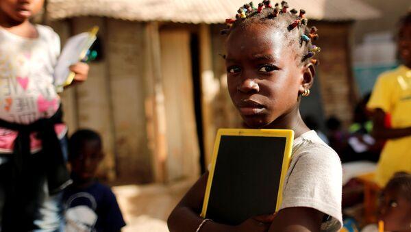 Une écolière, Afrique - Sputnik France