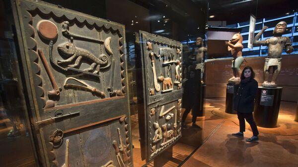 Le musée du Quai Branly-Jacques-Chirac, parfois appelé musée des Arts et civilisations d'Afrique, d'Asie - Sputnik France