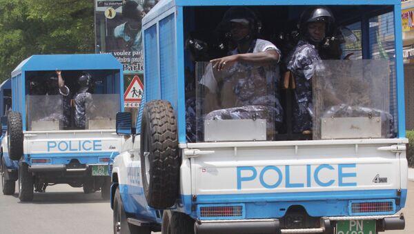Une patrouille de police à Lomé, Togo - Sputnik France