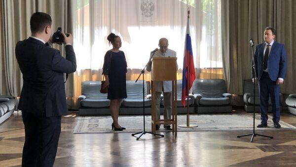 Jean Tcheriatchoukine prête serment et devient citoyen de la Russie - Sputnik France
