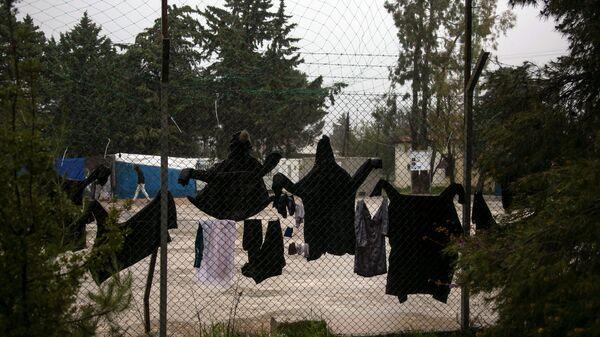 Le camp de migrants de Malakasa, en Grèce - Sputnik France