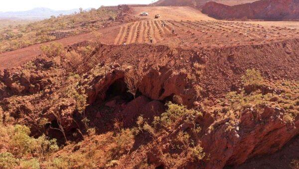 Une société minière détruit des grottes aborigènes vieilles de 46.000 ans - Sputnik France