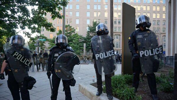 La police déployée à Washington - Sputnik France