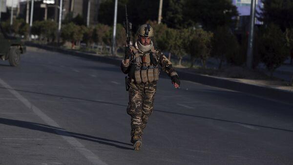 Un militaire en Afghanistan - Sputnik France