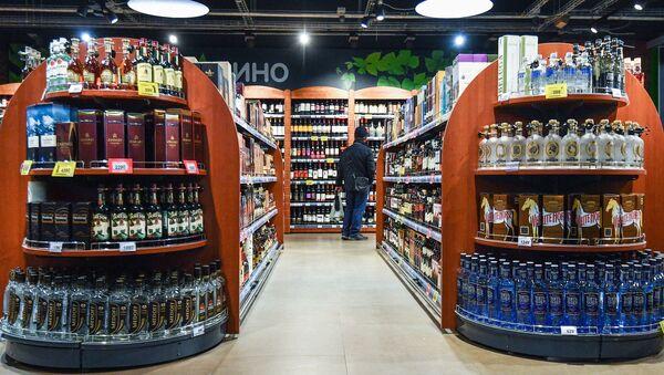 Un magasin d'alcool - Sputnik France