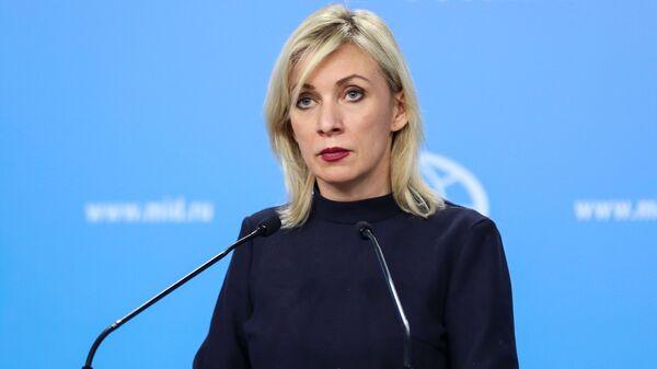 Maria Zakharova (photo d'archives) - Sputnik France