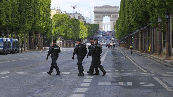 Des gendarmes à Paris - Sputnik France