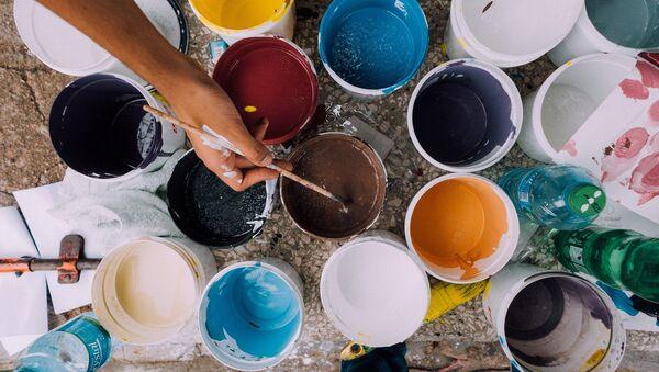 Des pots de peinture - Sputnik France