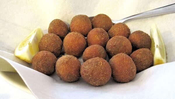 Olives frites farcies (image d'illustration) - Sputnik France