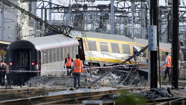 la catastrophe de Brétigny-sur-Orge en 2013 - Sputnik France