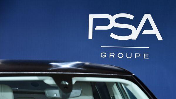 Logo du groupe PSA - Sputnik France
