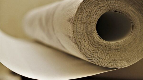 Un rouleau de tapisserie, image d'illustration - Sputnik France