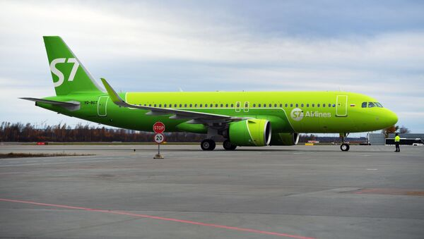 un Airbus A320 à Pulkovo, image d'illustration - Sputnik France