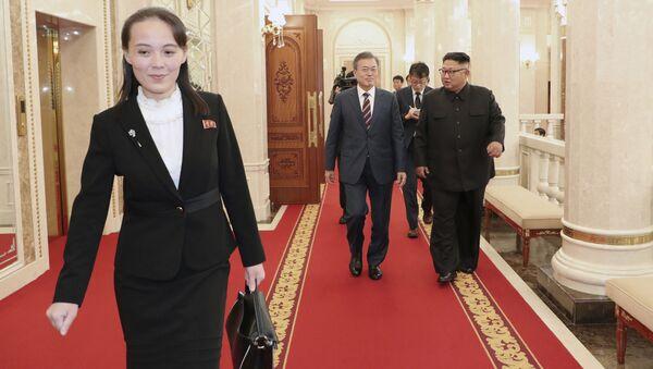 Kim Yo-jong, sœur de Kim Jong-un - Sputnik France