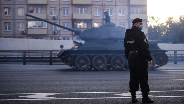 Le matériel militaire projeté à Moscou pour participer au défilé de la Victoire   - Sputnik France