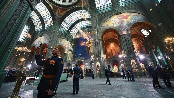 L'église de la Résurrection, désormais l'église principale des forces armées russes, a été consacrée - Sputnik France
