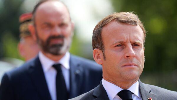 Emmanuel Macron et Édouard Philippe - Sputnik France