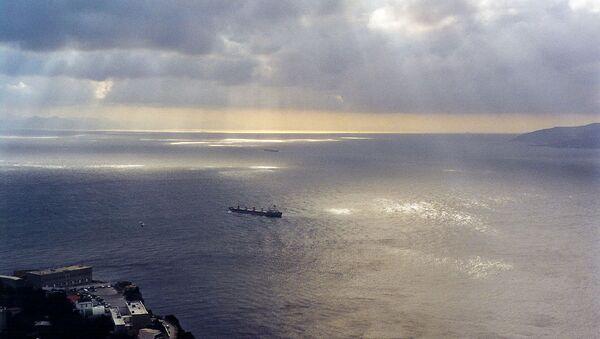 Vue du détroit de Gibraltar, vers le sud-ouest et la mer Méditerranée. - Sputnik France