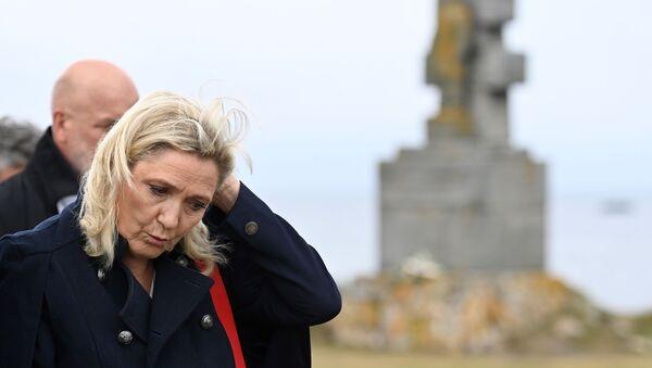 Marine Le Pen sur l'Ile-de-Sein - Sputnik France