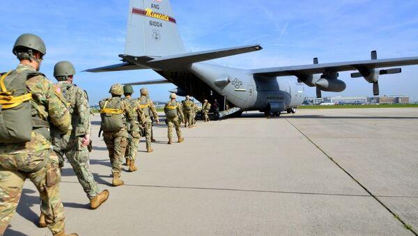Des soldats US en Allemagne (photo d'archives) - Sputnik France