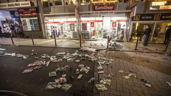 Un supermarché pillé à Stuttgart le 21 juin 2020 - Sputnik France