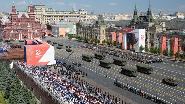 Le défilé militaire 2020 à Moscou - Sputnik France