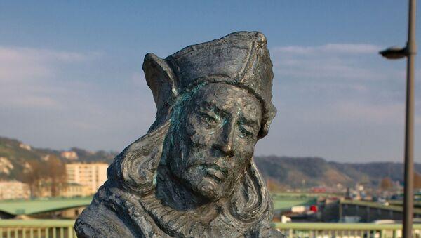 Buste de Christophe Colomb à Rouen - Sputnik France