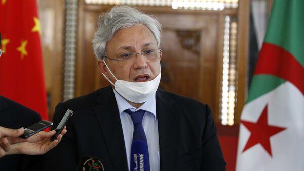 Lotfi Benbahmed, ministre de l'Industrie pharmaceutique, Algérie - Sputnik France