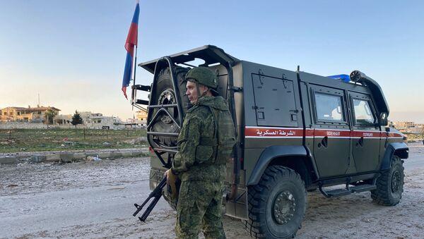 Police militaire russe à Idlib - Sputnik France