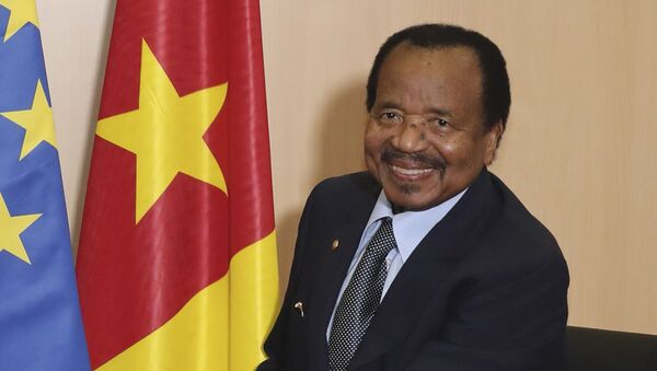 Paul Biya, Président du Cameroun - Sputnik France