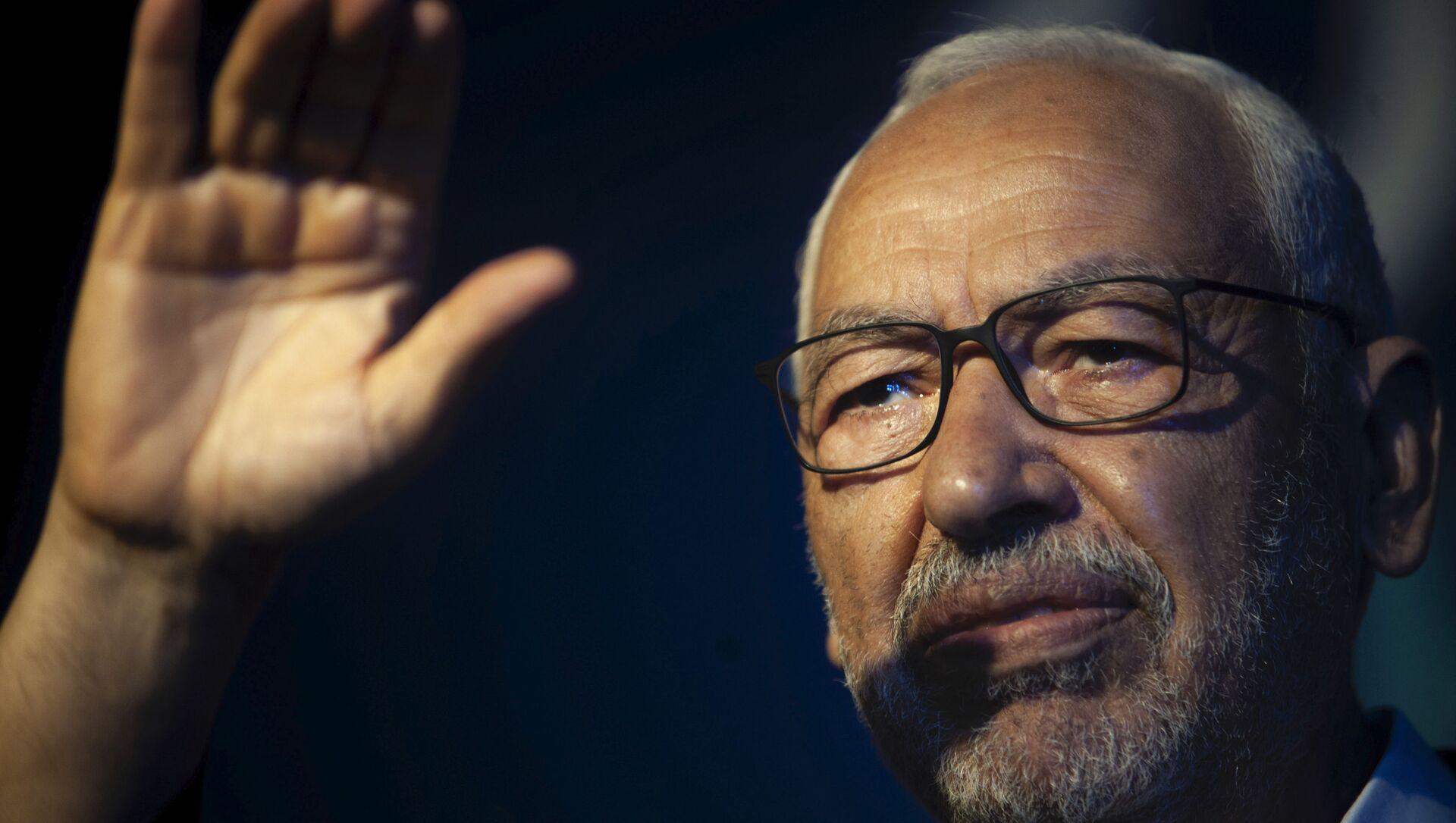 Rached Ghannouchi, président du parti islamiste tunisien Ennahda - Sputnik France, 1920, 04.02.2021