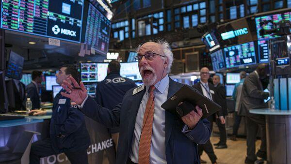 Trader à la bourse de New York, janvier 2020 (image d'illustration) - Sputnik France