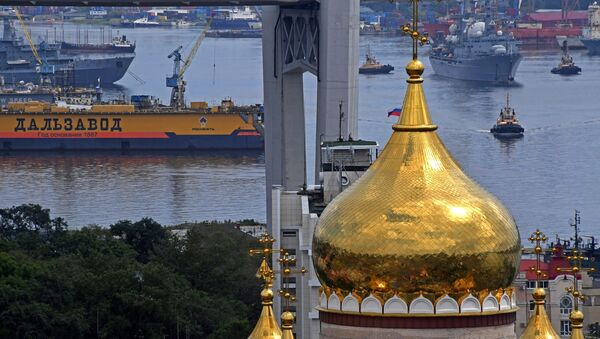 Vladivostok, la capitale orientale de la Russie   - Sputnik France