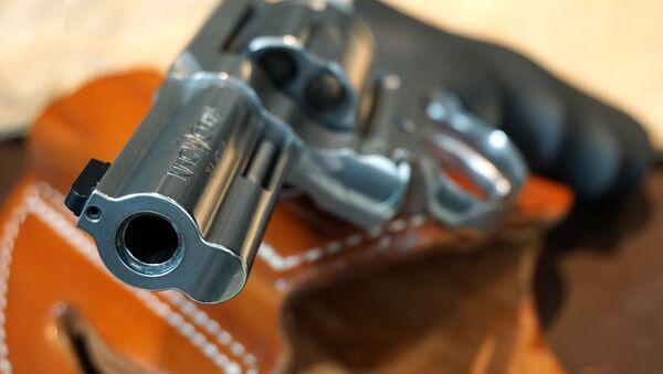 Un revolver (image d'illustration) - Sputnik France
