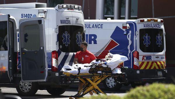 Une ambulance (image d'illustration) - Sputnik France