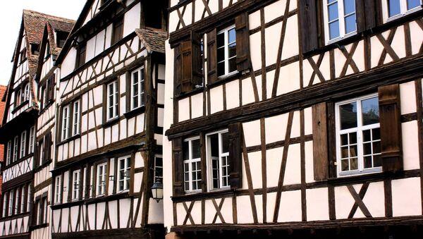 Des maisons à colombages en Alsace - Sputnik France