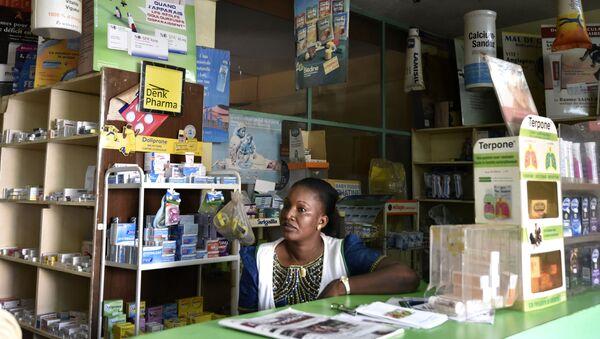 Une pharmacie à Ouagadougou, Burkina Faso - Sputnik France