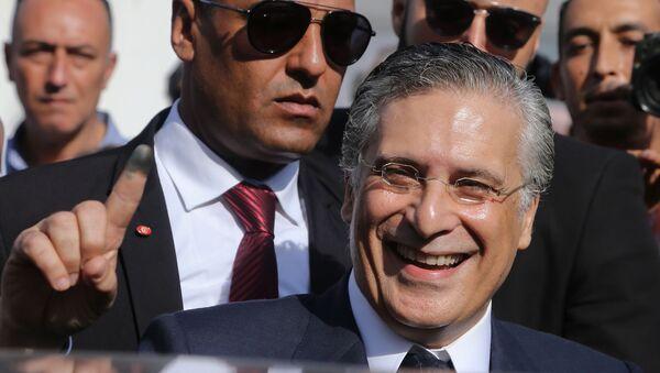 Nabil Karoui, candidat à la présidentielle tunisienne d'octobre 2019. - Sputnik France