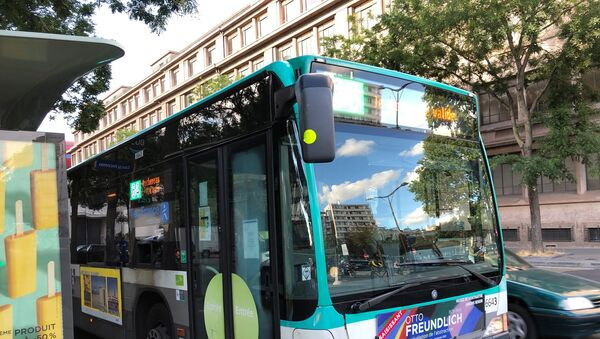 Un bus RATP dans la rue de Paris - Sputnik France