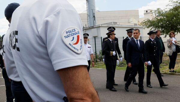 Gérald Darmanin et la police nationale - Sputnik France
