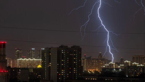 Orage à Moscou le 7 juillet 2020 - Sputnik France