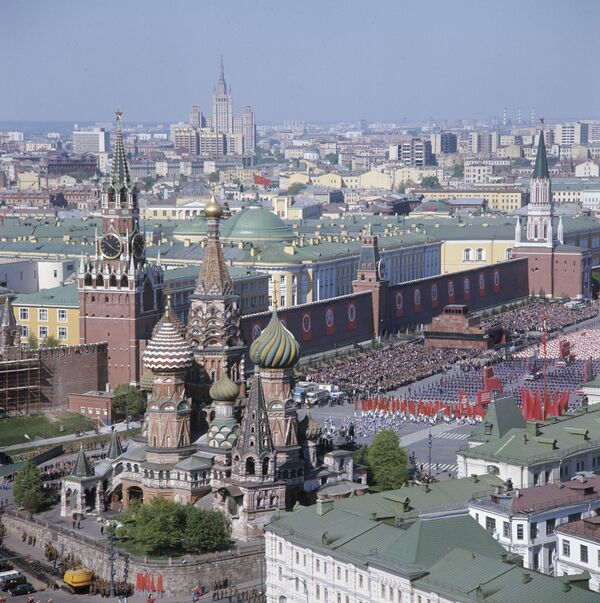 Place Rouge et embouteillages, symboles de Moscou pour les Russes (sondage) - Sputnik France