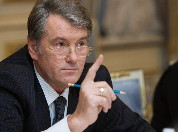 Ukraine: le président Iouchtchenko brandit le spectre de la dictature - Sputnik France