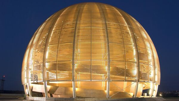 Большой адронный коллайдер - Sputnik France