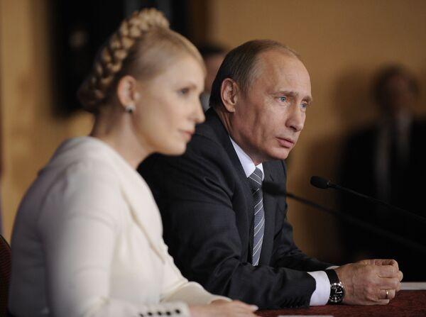 Vladimir Poutine, Ioulia Timochenko - Sputnik France