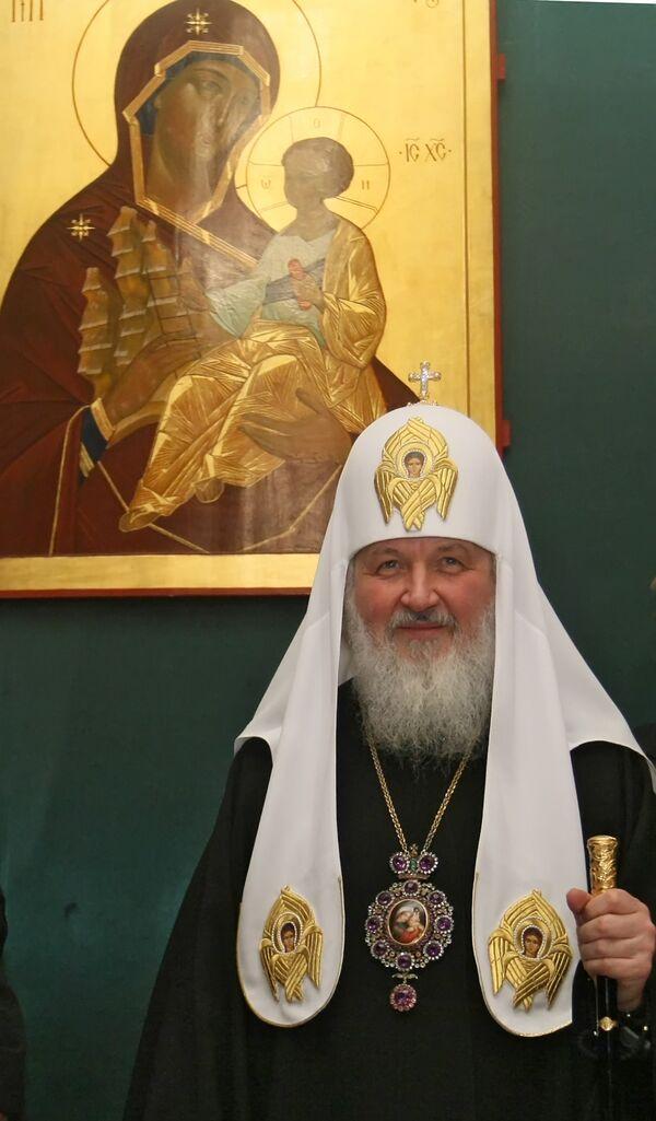 Patriarche de Moscou et de Toutes les Russies Cyrille - Sputnik France