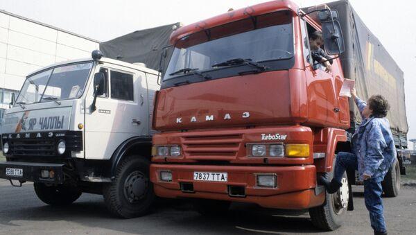 Camion KAMAZ - Sputnik France
