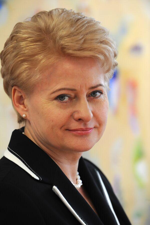 Dalia Grybauskaite - Sputnik France
