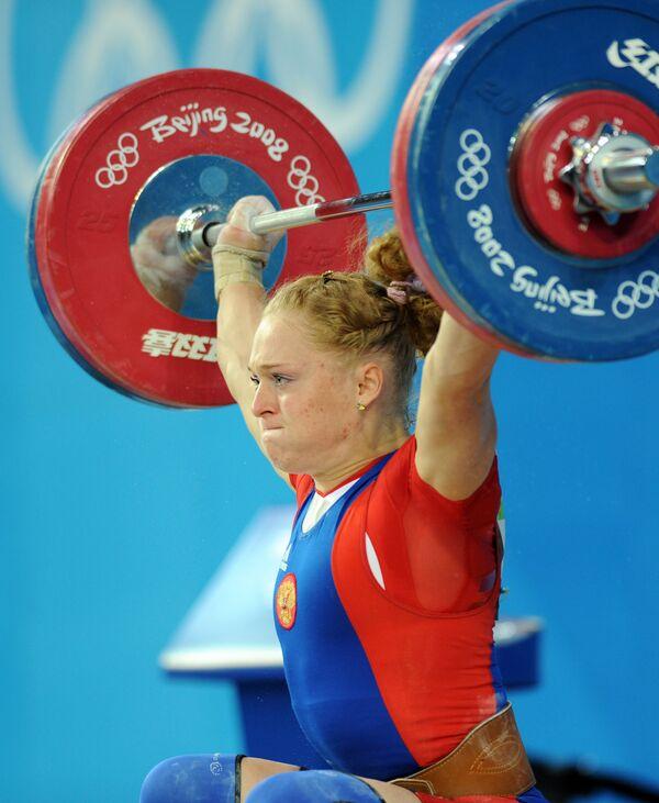 Haltérophilie - CM 2009: la Russe Slivenko vice-championne du monde - Sputnik France